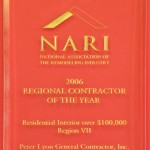 NARI 2006 Regional Contractor of the Year