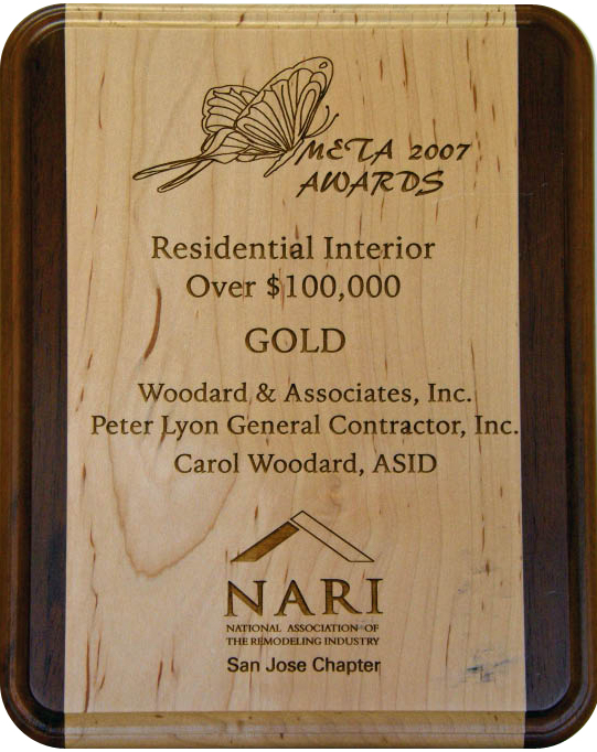 Residential Interior over $100,000 Gold