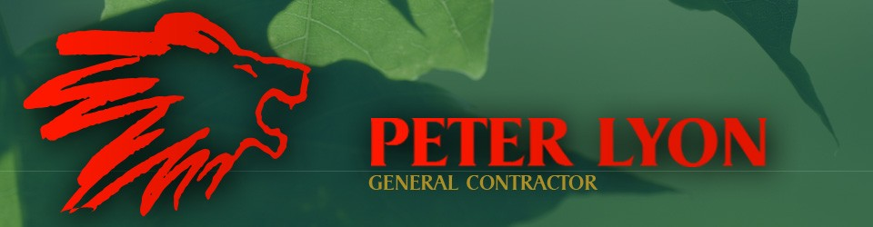 Peter Lyon, General Contractor